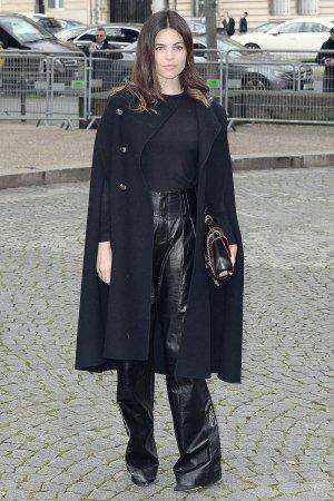 Julia Restoin Roitfeld attends Miu Miu show