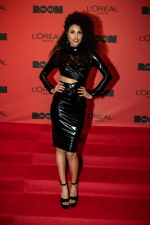 Julianna Townsend at opening of L'Oreal Paris Bar Room