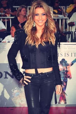 Julianne Hough at Premiere of This Is It