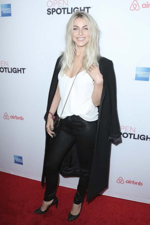 Julianne Hough attends Airbnb Open Spotlight