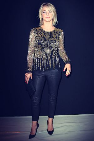 Julianne Hough attends the Naeem Khan Spring 2013 fashion show