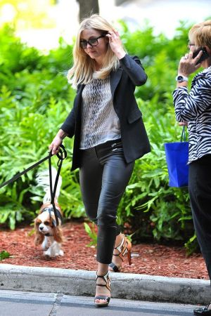 Julianne Hough Walks the Dogs
