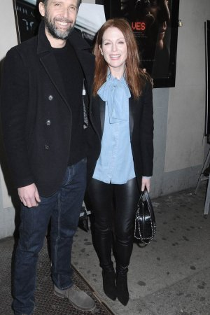 Julianne Moore attends the Wolves New York Screening