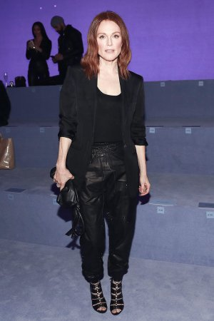 Julianne Moore attends Tom Ford F/W 2018 Fashion Show