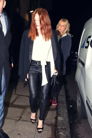 Julianne Moore out and about in London
