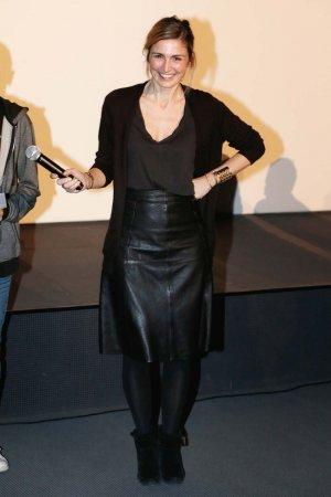 Julie Gayet attends Festival Des 6 Trouilles Short Film Festival