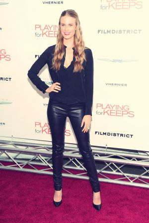 Julie Henderson attends screening of Playing For Keeps