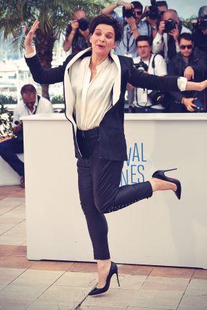 Juliette Binoche attends Sils Maria Photocall The 67th Annual Cannes