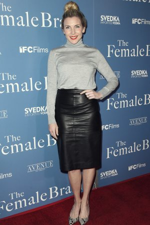 June Diane Raphael attends The Female Brain film premiere