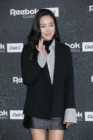 Jung Yeon-Joo attends the photocall for Reebok Classic 'Club C Exclusive'
