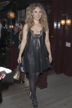 Juno Temple out in London