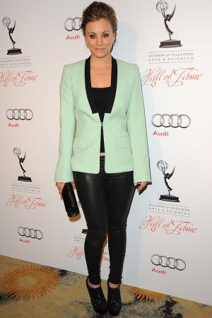Kaley Cuoco at The Academy Of Television Arts & Sciences