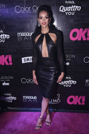 Kara McCullough attends OK! Magazine's Fall Fashion Week Event