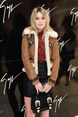 Kara Rose Marshall attends the Giuseppe Zanotti London flagship store launch