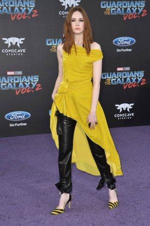 Karen Gillan attends Guardians of the Galaxy Vol. 2 Premiere