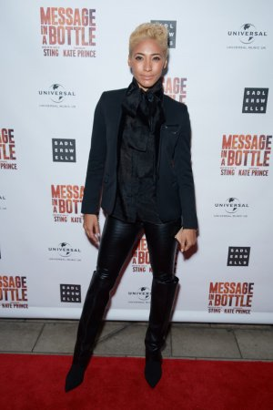 Karen Hauer at Press Night of Message in a Bottle