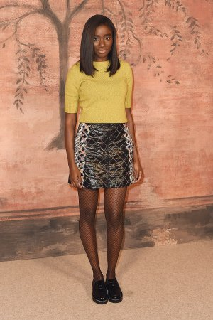Karidja Toure attends Chanel Cruise Collection