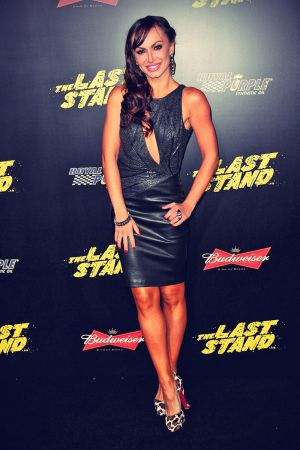 Karina Smirnoff The World Premiere of The Last Stand shown