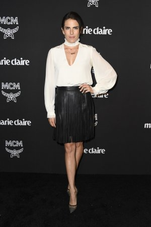 Karla Souza arrives at the Marie Claire Change Makers Celebration