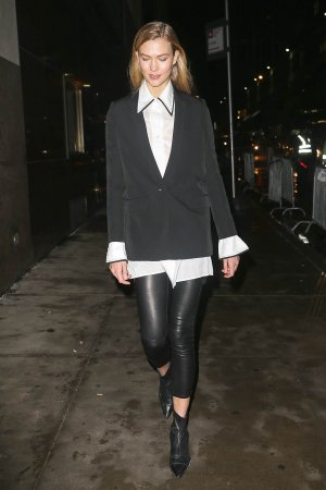 Karlie Kloss attends the Calvin Klein Collection after party