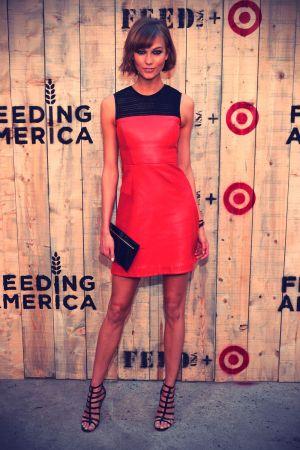 Karlie Kloss FEED USA & Target launch event