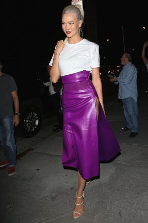 Karlie Kloss heads to LA Bash