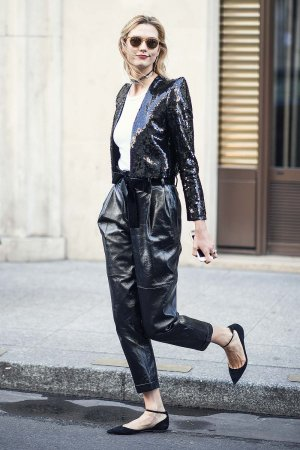 Karlie Kloss out and about in Paris