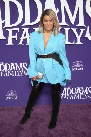 Karol G attends World Premiere of THE ADDAMS FAMILY