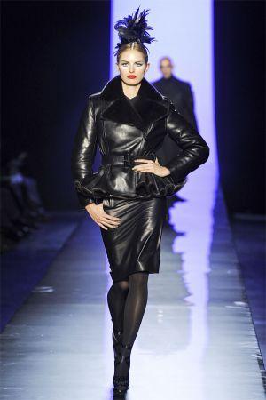 Karolina Kurkova at Jean Paul Gaultier Haute Couture F/W 2012