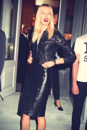 Karolina Kurkova at Versace Soho Store Opening