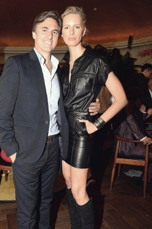 Karolina Kurkova attend Brian Neff's 40th Birthday Party