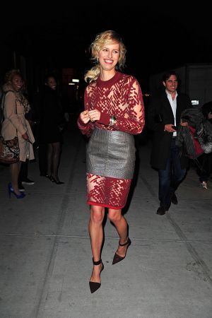 Karolina Kurkova attends the 2012 Runway To Win Launch at Theory in NY