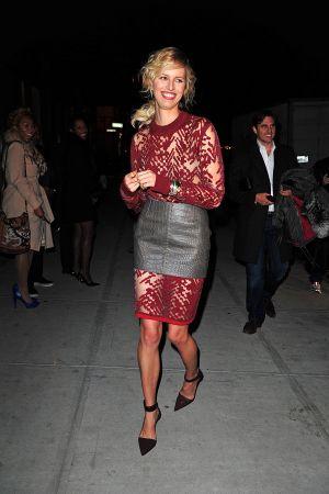 Karolina Kurkova attends the 2012 Runway To Win Launch at Theory in NY