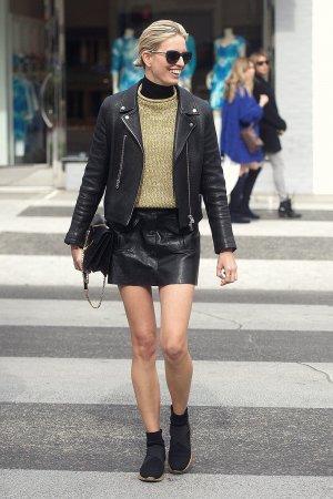Karolina Kurkova out in Beverly Hills