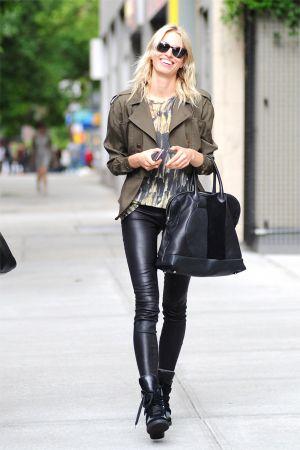 Karolina Kurkova takes a stroll in New York City