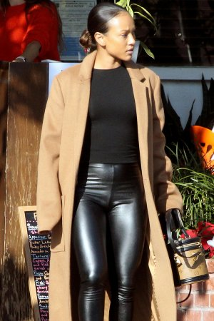 Karrueche Tran out in West Hollywood
