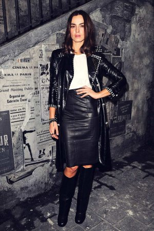 Kasia Smutniak attends Chanel Metiers d'Art 2015/16 Fashion Show