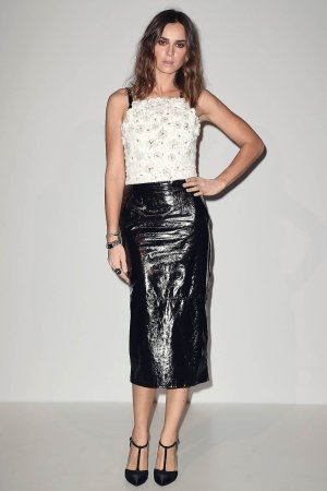 Kasia Smutniak attends Culture CHANEL exhibition opening