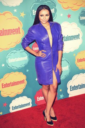 Kat Graham attends Entertainment Weekly's annual Comic-Con celebration