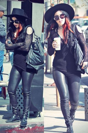 Kat Von D at Urth CaFfe in West Hollywood