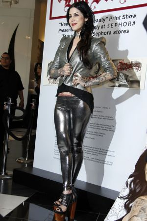 Kat Von D promotes New American Beauty held at Sephora Hollywood & Highland in Hollywood
