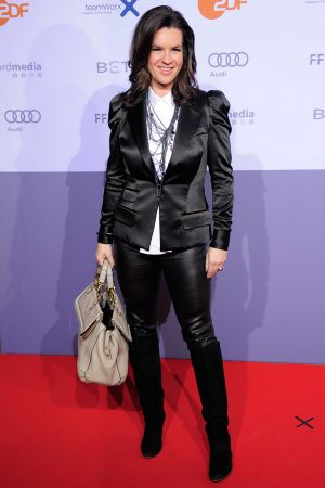 Katarina Witt at ZDF Fernsehfilms premiere in Berlin
