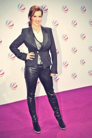 Katarina Witt attends The enemy of my life premiere