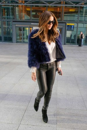 Kate Beckinsale arrives at Heathrow Airport