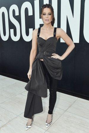 Kate Beckinsale attends MOSCHINO Spring Summer 2018 Menswear