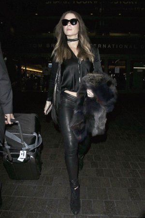 Kate Beckinsale is seen at LAX