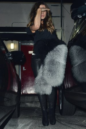 Kate Beckinsale leaving Craig's restaurant