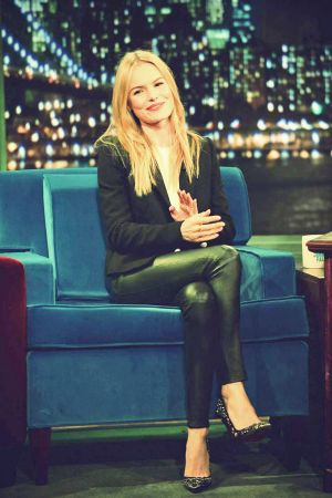 Kate Bosworth visits Late Night With Jimmy Fallon