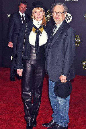 Kate Capshaw attends Star Wars: The Force Awakens World Premiere