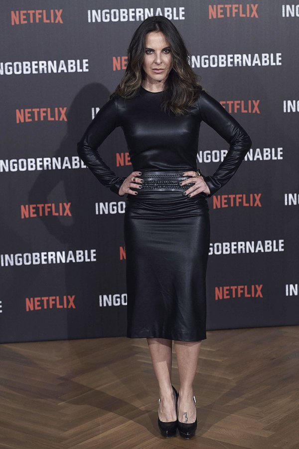 Kate del Castillo attends a photocall for Netflix's 'Ingobernable'